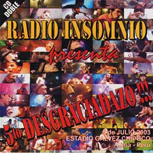 CD 5 to Desgrasiadazo 05/07/2003 de Radio Insomnio - 2004